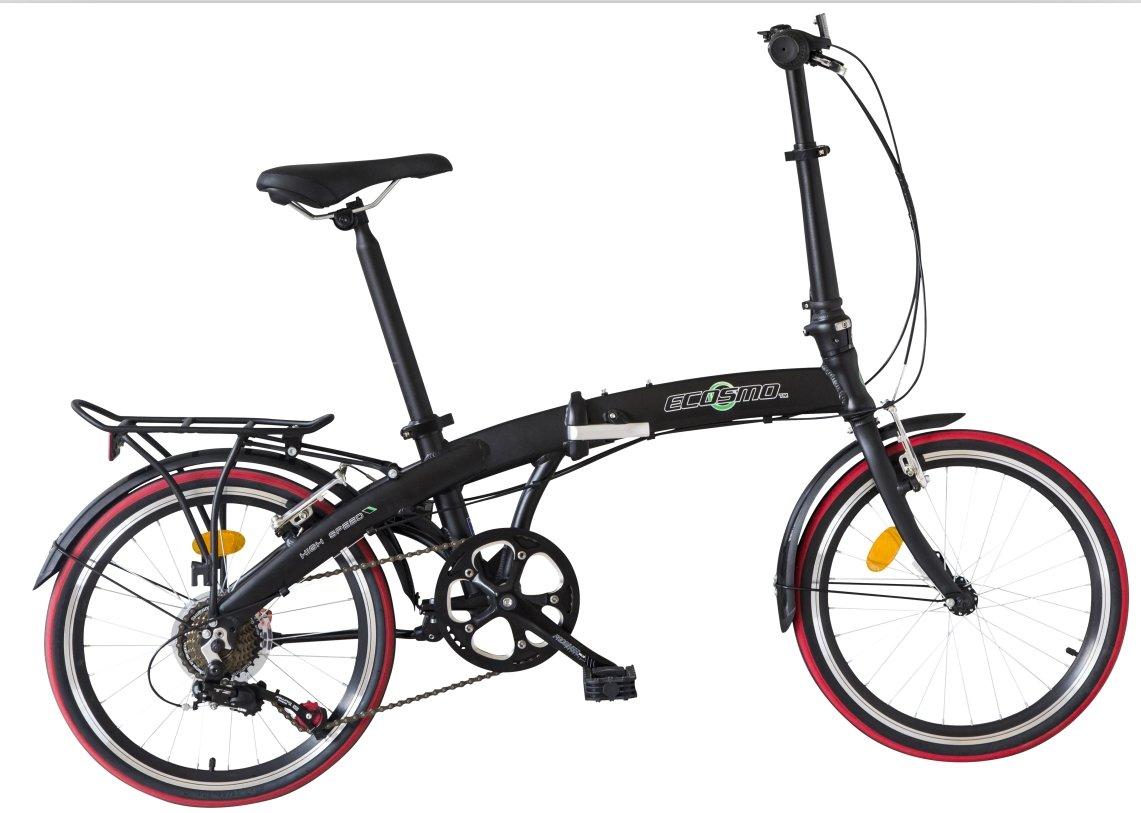 "ECOSMO 20"" Lightweight Alloy Folding City Bike Bicycle,12kg - 20AF09BL"
