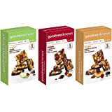 goodnessknows Bundle - 15 bars (1) 5ct Cranberry (1) 5ct Apple (1) 5ct Peach