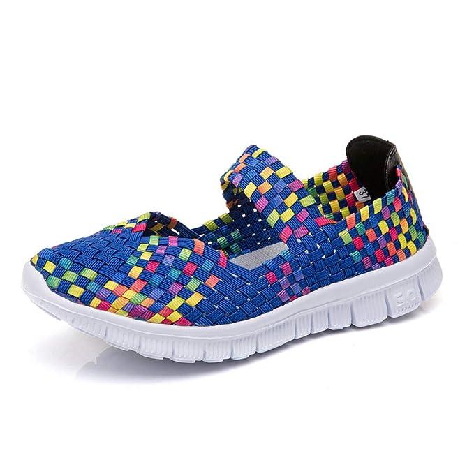 Mujer Zapatillas Casuales, 2019 Zapato Deporte En Suelas Cómodas Ligero con Plataforma Zapatos De Conducir