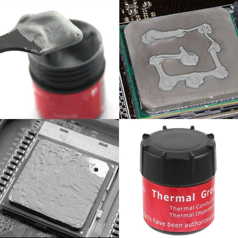 High Performance Gray Heat Sink Compound CPU Cooling Cooler Grease Paste Silicone Thermal Conductive Grease Paste
