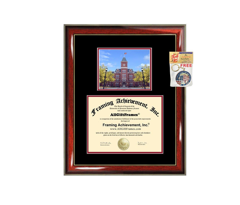 Ohio State University Diploma Frame OSU Graduation Degree Bachelor Master PhD Doctorate School Double Mat Graduation Certificate Plaque University Framing Graduate Gift Collegiate