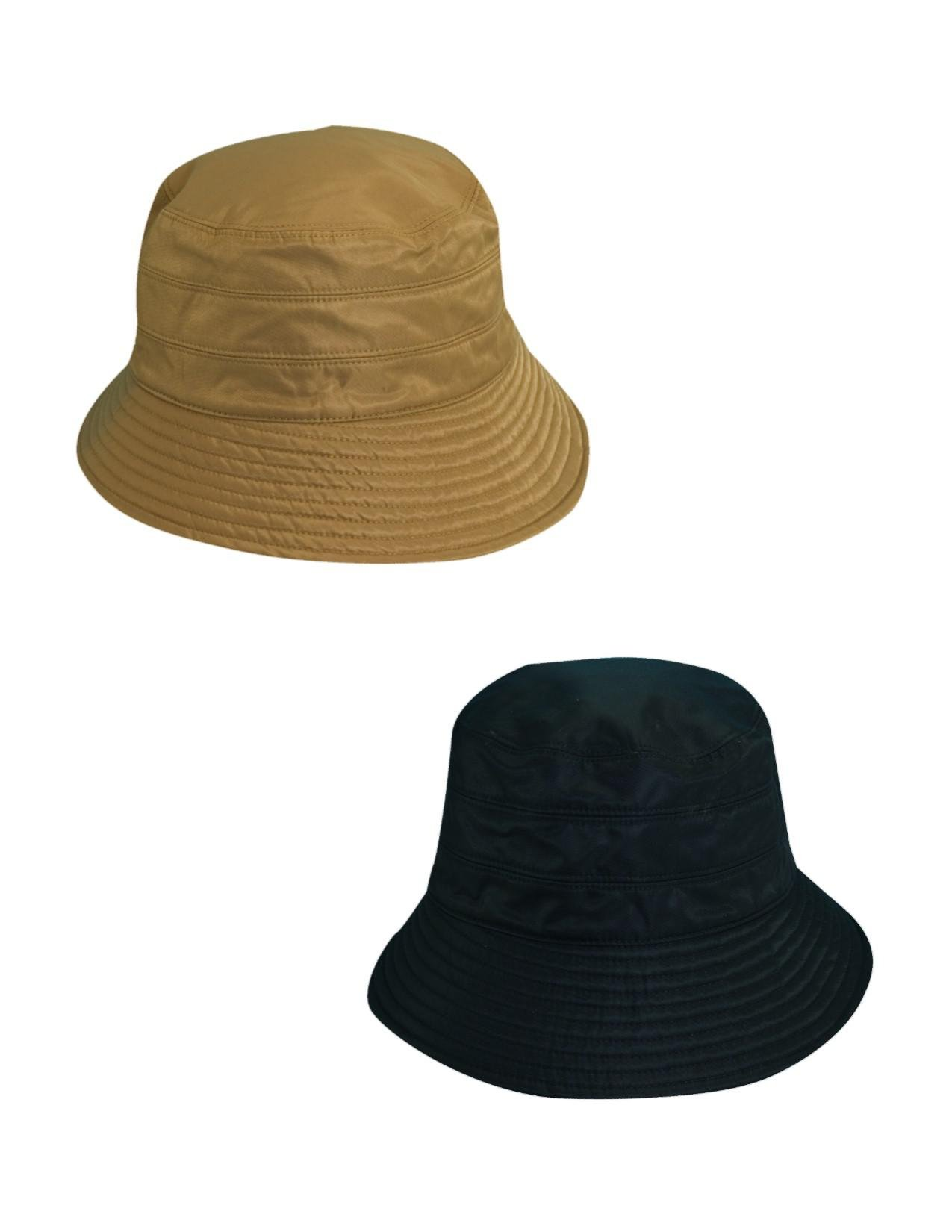 Scala Classico Women's Tapered Water Repellent Rain Hat (Pack of 2), Khaki/Black by Scala