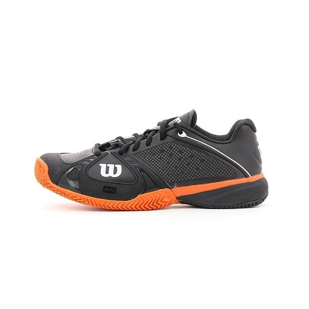 Wilson - Zapatillas pádel m rush pro clay, talla 46, color ...