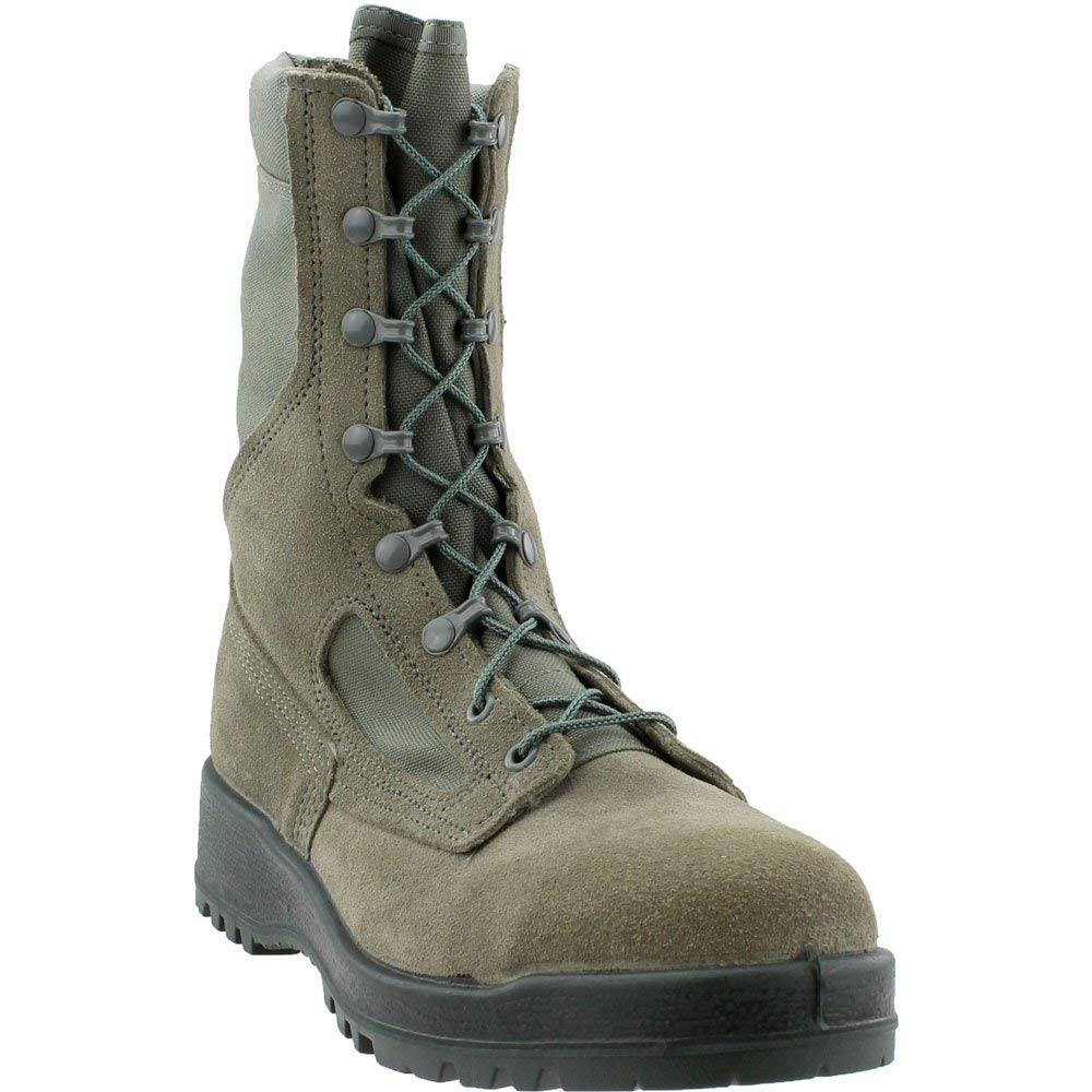 a17fb6f957b4 Amazon.com  Belleville 600ST USAF Sage Green Hot Weather Steel Toe 8