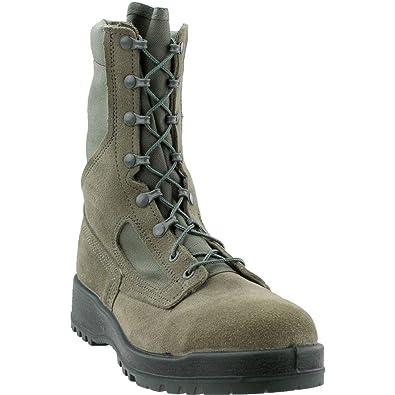 df55b13c4aff Amazon.com  Belleville 600ST USAF Sage Green Hot Weather Steel Toe 8 ...