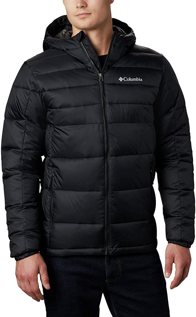Columbia mens Buck Butte Insulated Hooded Jacket: Clothing