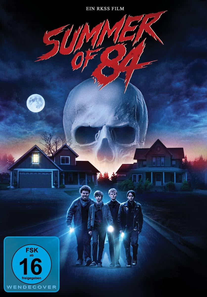 Summer of 84 [Alemania] [DVD]: Amazon.es: Cory Grüter-Andrew, Caleb Emery, Judah Lewis, Tiera Skovbye, Graham Verchere, Rich Sommer, Anouk Whissell, ...