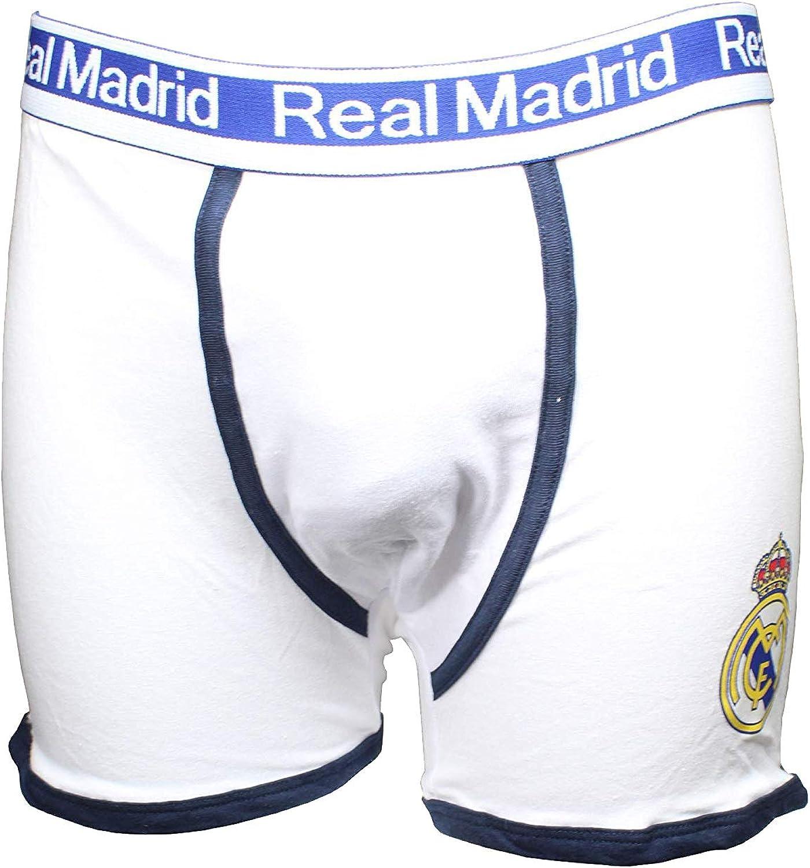 Real Madrid Produit officiel RM602 Boxer pour homme Lot de 2 paires