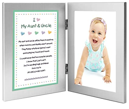Amazon.com: Gift for Uncle and Aunt - Sweet Poem From Niece or ...