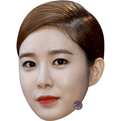 Amazon com: Yoo in-Na (Red Lips) Celebrity Mask, Card Face