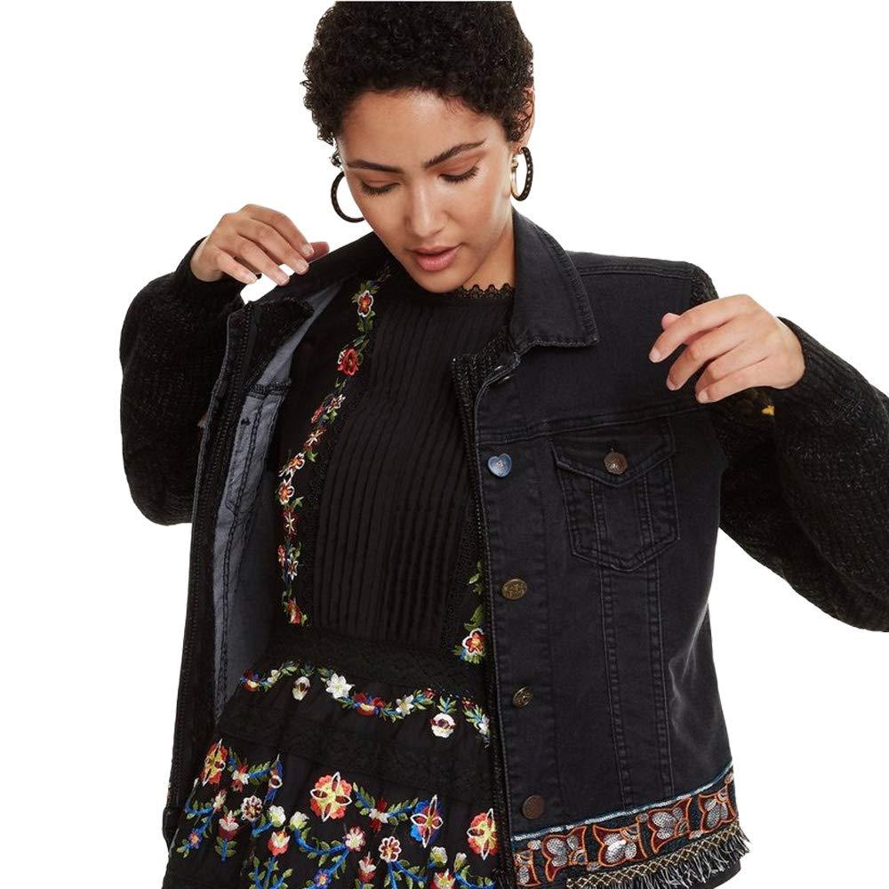 Desigual Womens Florecillas Jackets