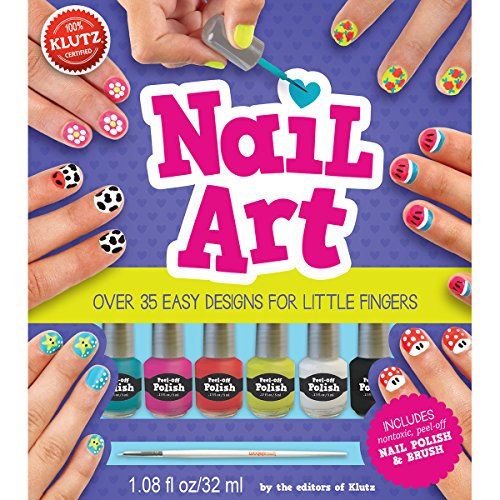 Klutz K580264 Nail Art Book Kit