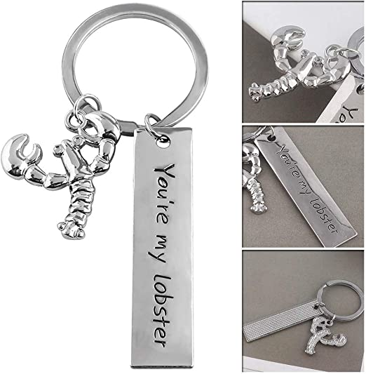 TV Show Friends You/'re My Lobster Alloy Key Chains Keychain Keyfob Keyring