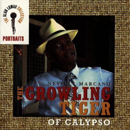 The Growling Tiger Of Calypso by Neville Marcano - Tiger Growling