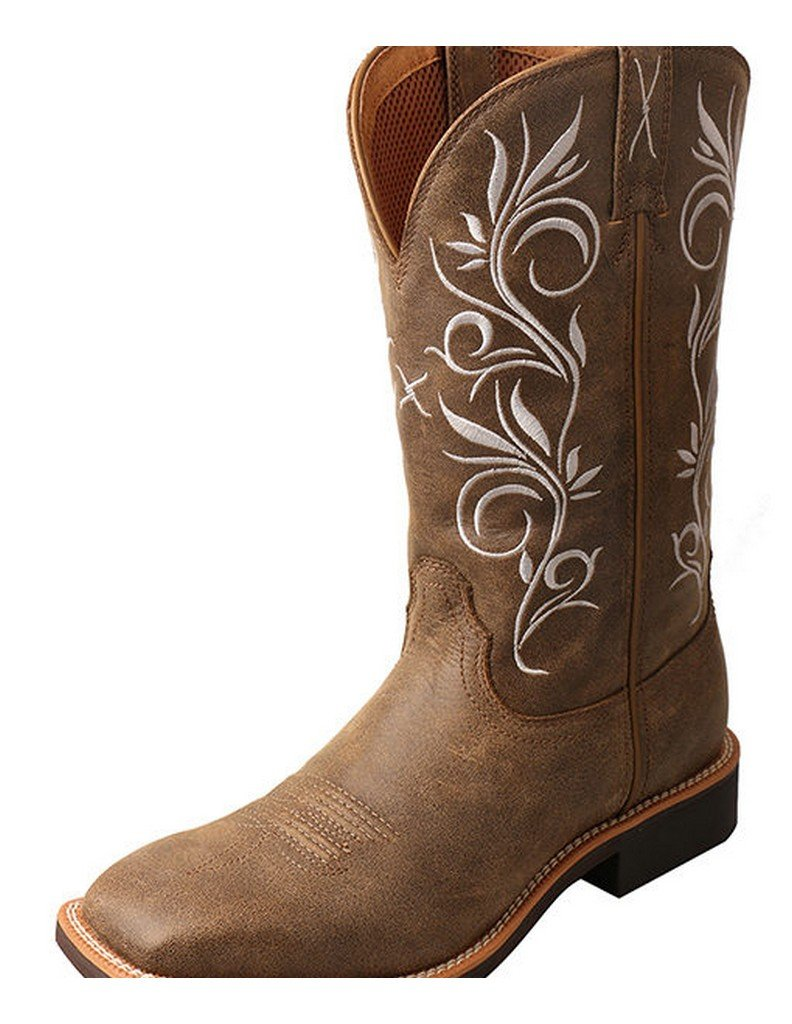 Twisted X Ladies Top Hand Western Cowboy Boot - Bomber (8)