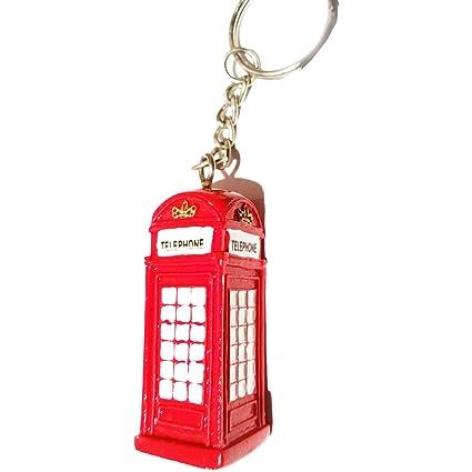 Resistente, Portable Londres 3D UK rojo Llavero/llavero ...