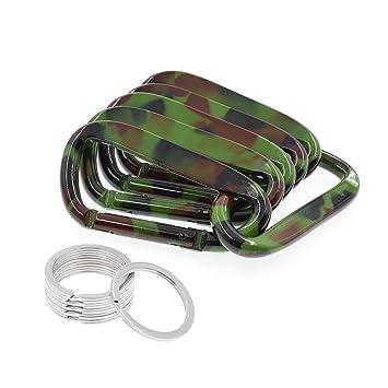 Amazon.com: LIFEMATE - Mosquetón de aluminio con gancho para ...