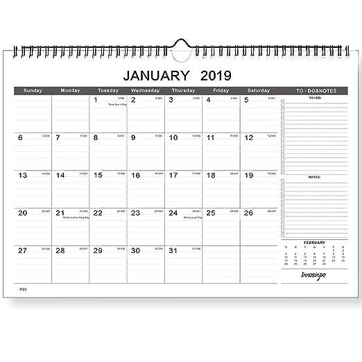 Calendario de planificador del hogar 2018-2020 con ...