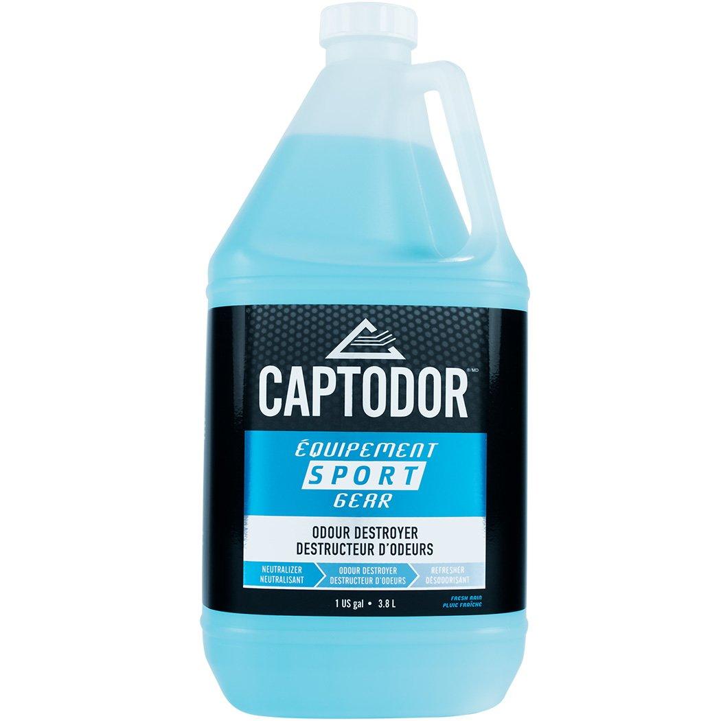 Captodor Sport Gear Odor Destroyer Spray, 1 Gallon, Single Unit