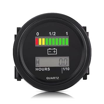 Digital Batterie Kapazitäts Monitor Messgerät Meter DC 12V Blei Säure Batterie