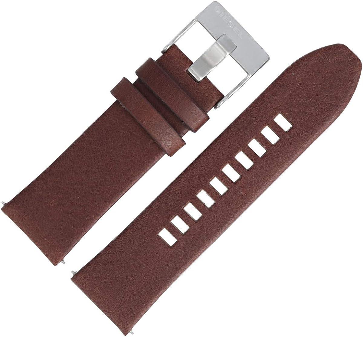 Diesel DZ-4290 - Correa de piel para reloj (26 mm), color marrón