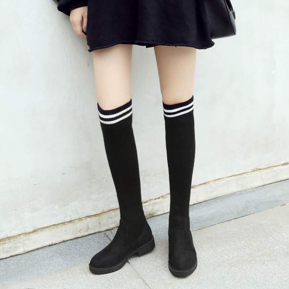 HhGold Damenmode über Knie ziehen Stiefel ziehen Knie an 15fe7e