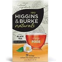 Higgins & Burke Decaf Orange Pekoe Tea, 20 Count