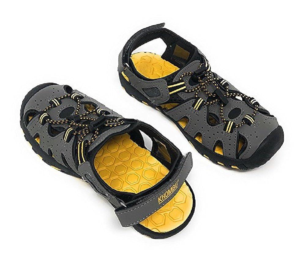 1 Khombu Kids Athletic Boys Grey Active Sandals