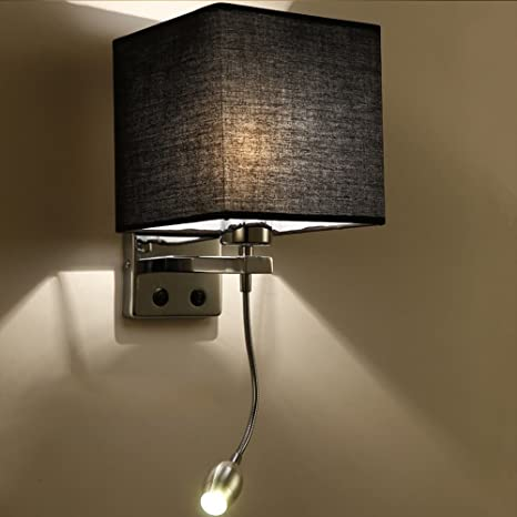 Modern Wooden Led Wall Light Simple Creative Home Bedroom Fixture E27 5 15 Sq M Wall Fixtures Edemia Home Garden