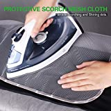 SUNKLOOF Silicone Coating Ironing Board Cover and