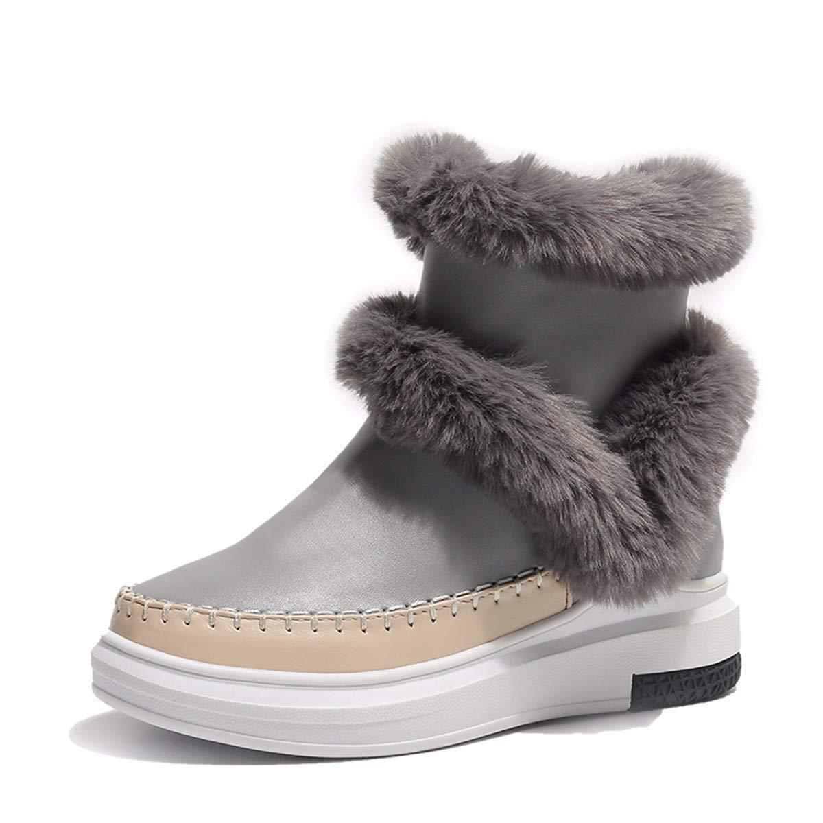 KPHY Damenschuhe/Stiefeln Winter Warm Und SAMT Kurze U - Baumwolle - Schuhe Sportliche Frauen Schuhe Kurze Stiefel Joker Anti - Slip