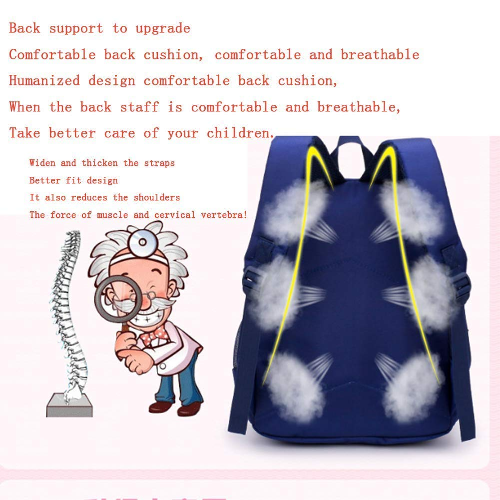 34d57ef41a29 Amazon.com: Yunqir Children's Backpacks School Backpack 3-6 Years ...