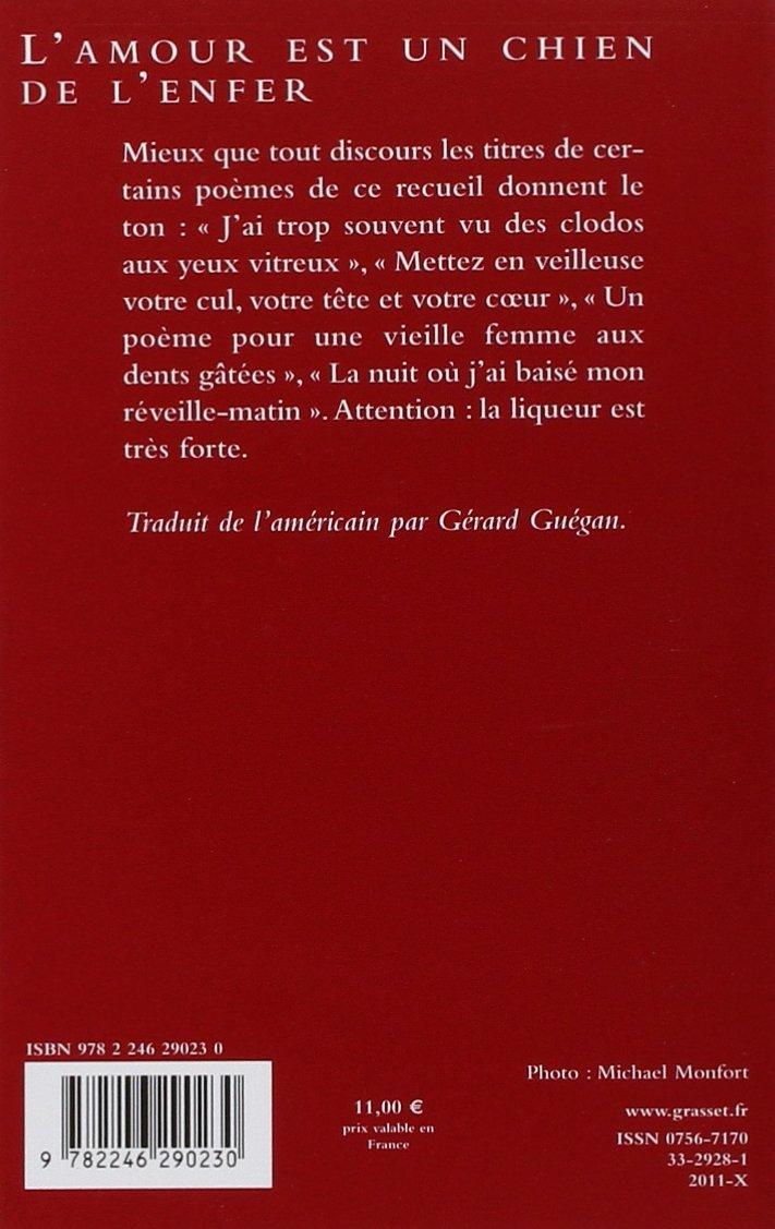 Lamour Est Un Chien De Lenfer Charles Bukowski