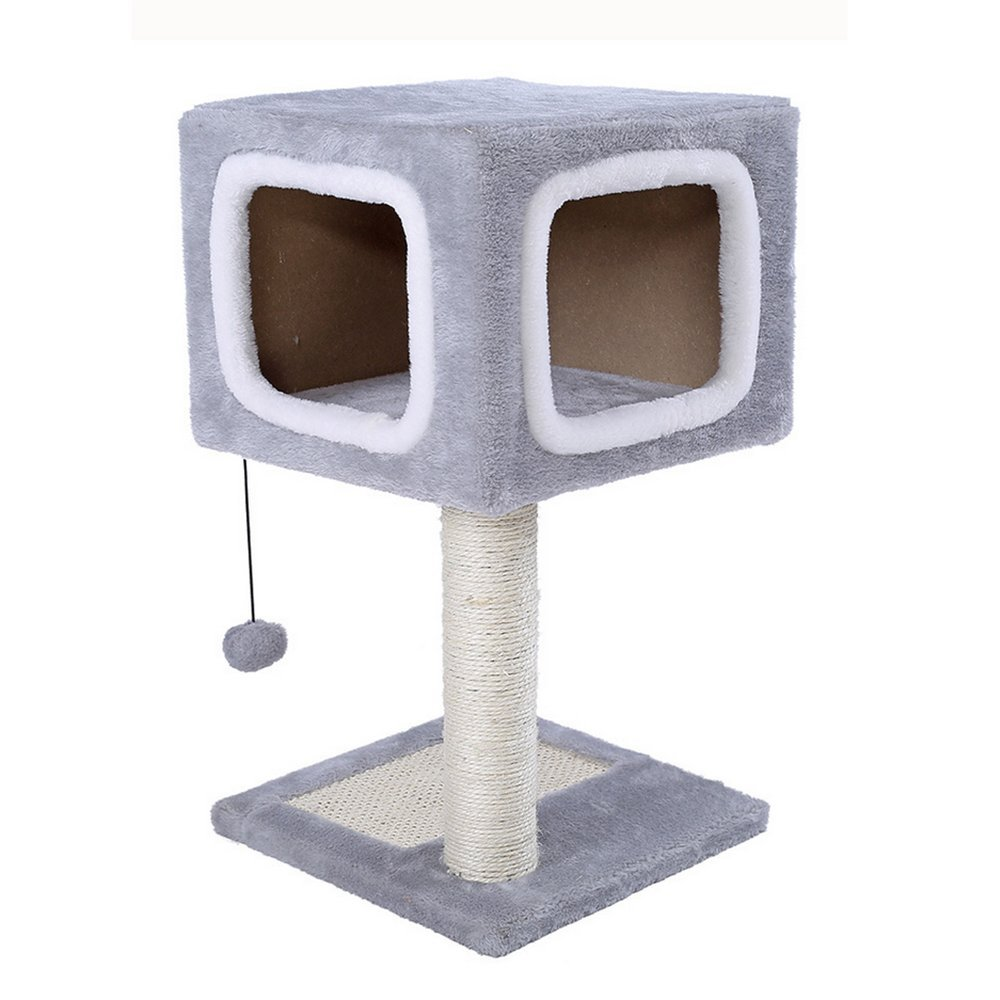 L&XY Cat Tree Apartment Furniture Caterpillar Activity Tower Lightweight Convenient Steady And Secure Environment Play Scratch Pet Toy 313157Cm