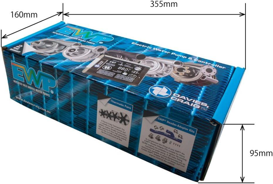 EWP115電動ウォーターポンプ&コントローラーコンボセット 合金属ボディ 12V