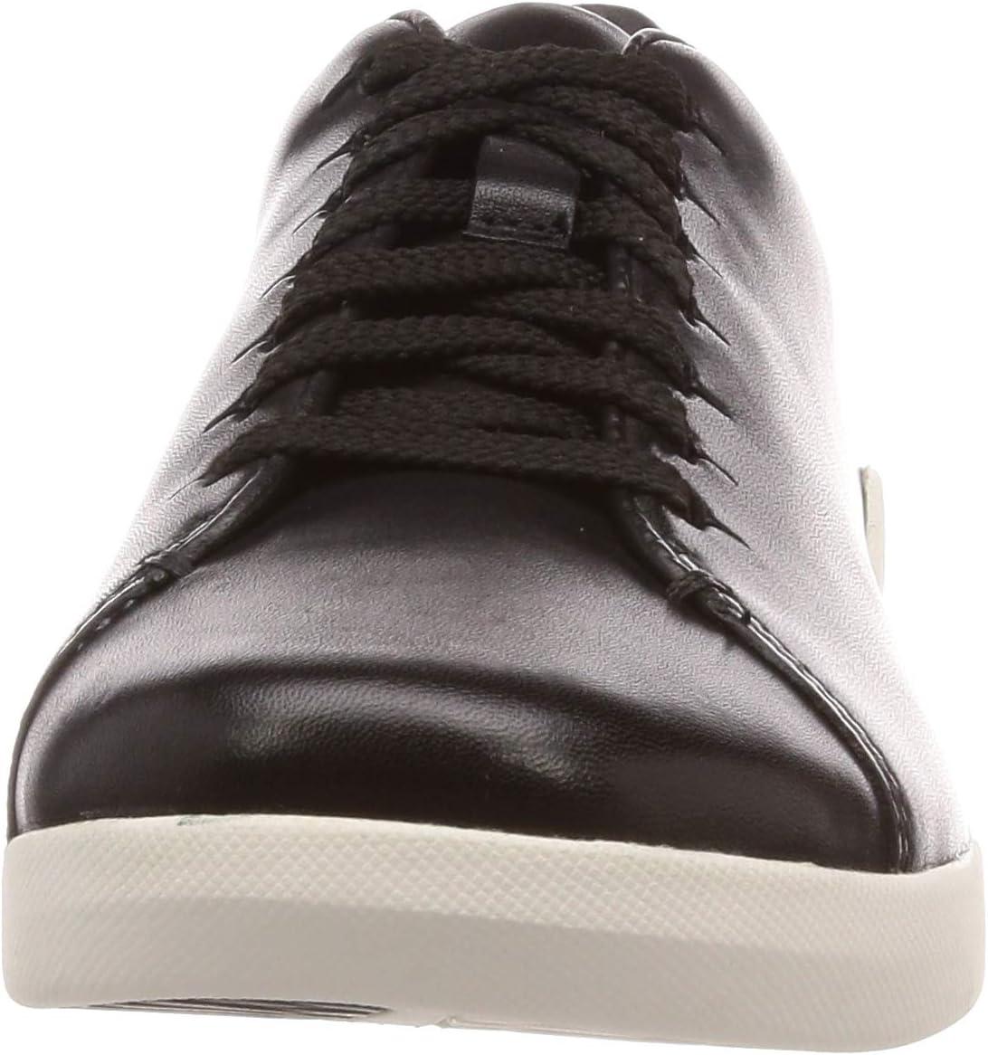 Clarks Dames Tri Abby Low-Top Sneakers zwart (zwart)