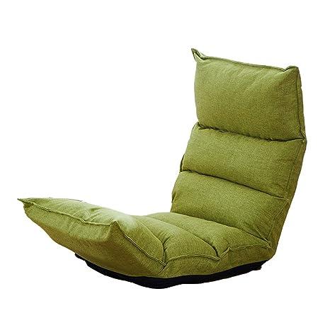 Amazon.com: Sofá tumbona individual Dormitorio plegable sofá ...