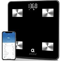 Arboleaf Weight Scale - Smart Scale Bluetooth Body Fat Scale Wireless with iOS, Android APP, Unlimited Users, Auto…