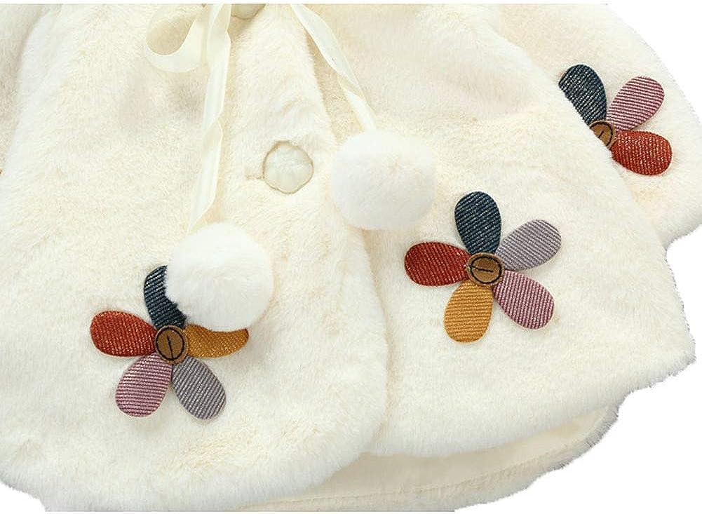LOSORN ZPY Baby Girl Winter Fleece Coat Kids Warm Hooded Thick Jacket with Cartoon Bear Outwear