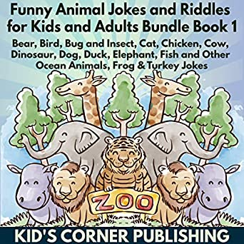 Amazon Com Funny Animal Jokes And Riddles For Kids And Adults