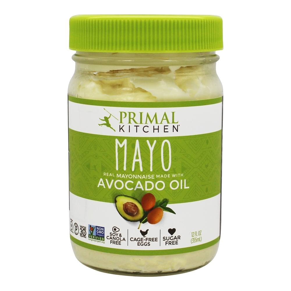 Primal Kitchen Avocado Oil Mayonnaise, 12 Ounce (355 ML), Paleo, Whole30 | 6-Pack