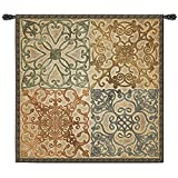 Fine Art Tapestries Wrought Iron Elegance Wall Tapestry, Large