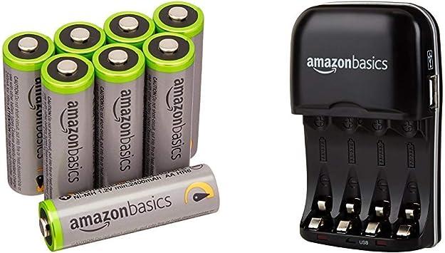 Amazon Basics Vorgeladene Ni Mh Aa Akkus Elektronik
