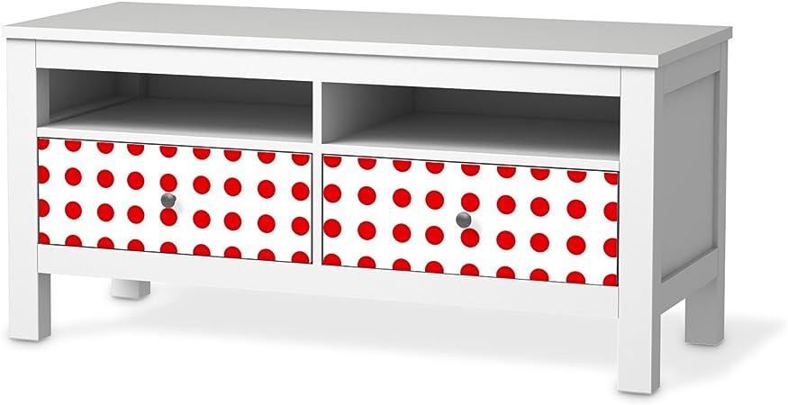 Meubles D Ecran Pour Ikea Hemnes Banc Tv 2 Tiroirs Papier
