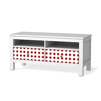 Meubles D écran Pour Ikea Hemnes Banc Tv 2 Tiroirs Papier
