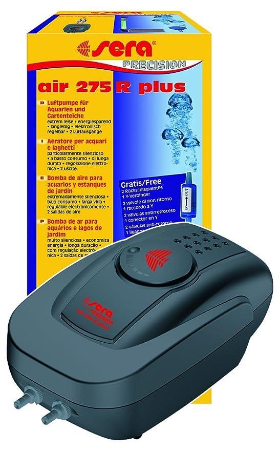 Sera 08816 Bomba de Aire para Acuario - Bombas de Aire para acuarios (Negro, Rojo): Amazon.es: Productos para mascotas