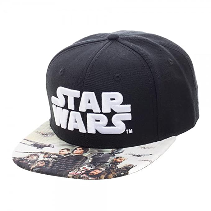 02e212b641c Image Unavailable. Image not available for. Color  Star Wars Rogue One Sublimated  Bill Snapback Hat