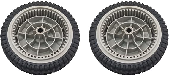 AdZzz Set of (2) Front Drive Wheels Replace MTD Troy-Bilt Self Propelled Mowers for 734-04018C