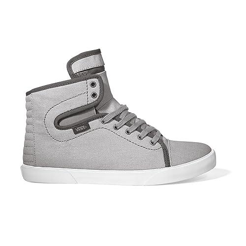7e5135721d Vans Womens Otw Hadley Canvas Hi Top Skate Sneakers Canvasgrey 10.5   Amazon.ca  Shoes   Handbags