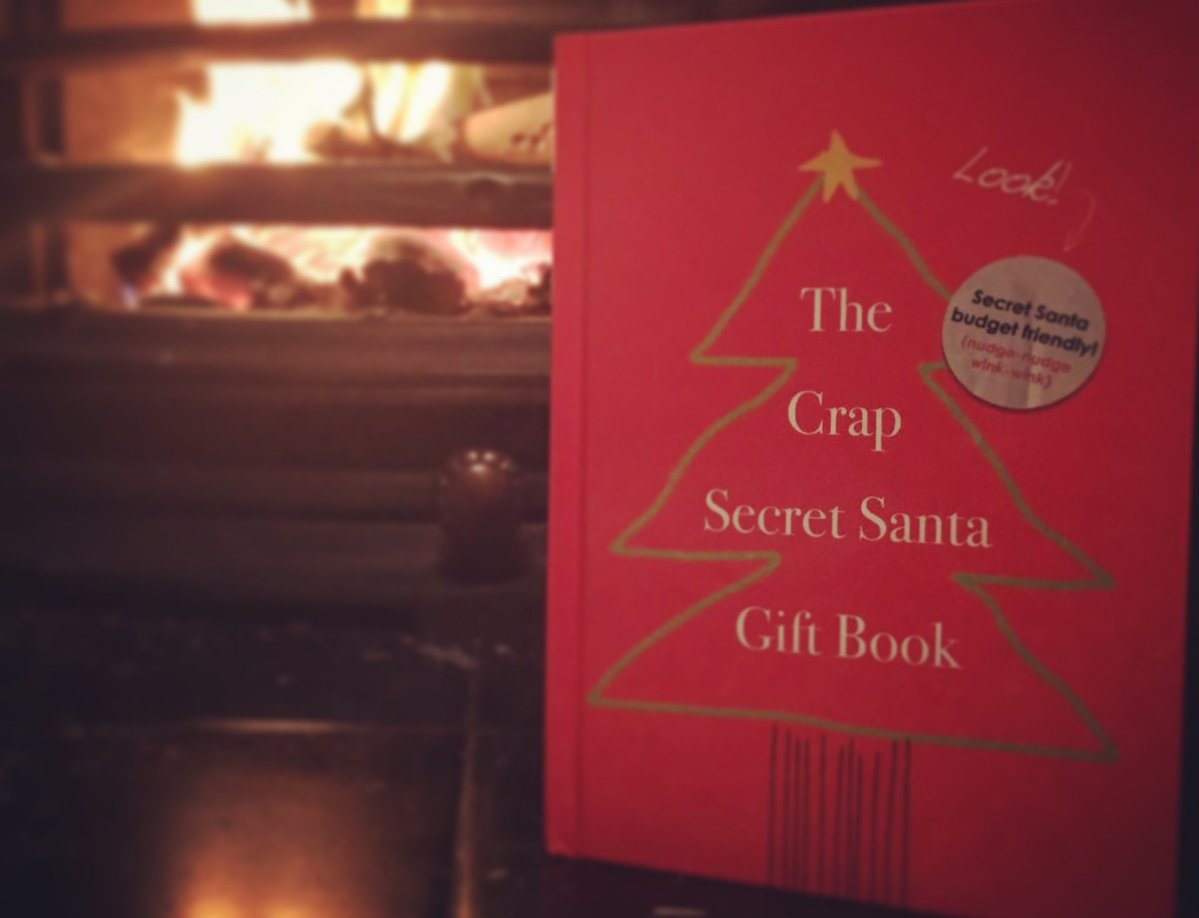 The crap secret santa gift book geant casino la riche soleil electromenager